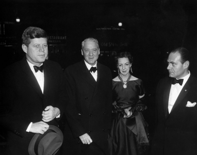 President Kennedy with Sherman and Lorraine Cooper of Kentucky
